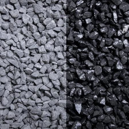 Basaltsplitt in der Körnung 5-8