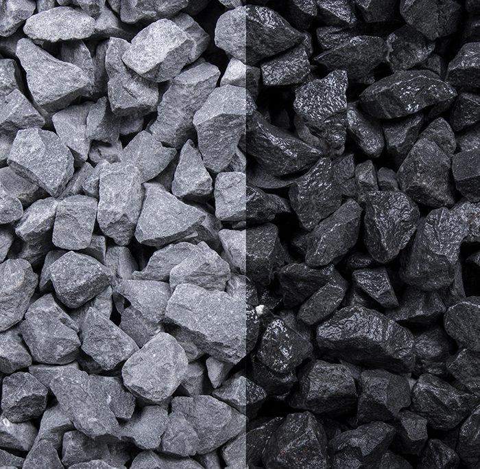 Basalt Splitt anthrazit