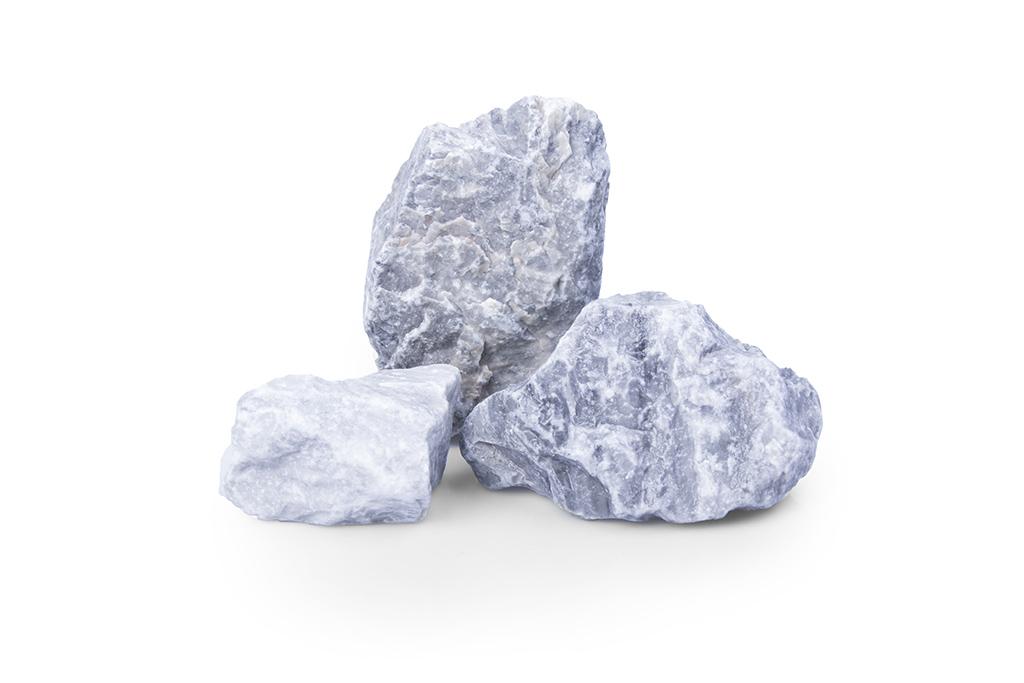 Kristall blau GS Gabionensteine Gabionenfuellung