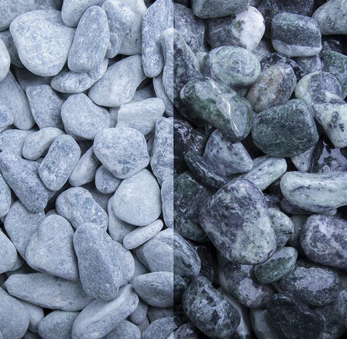 Kristall grün 15-25 getrommelt kies kaufen